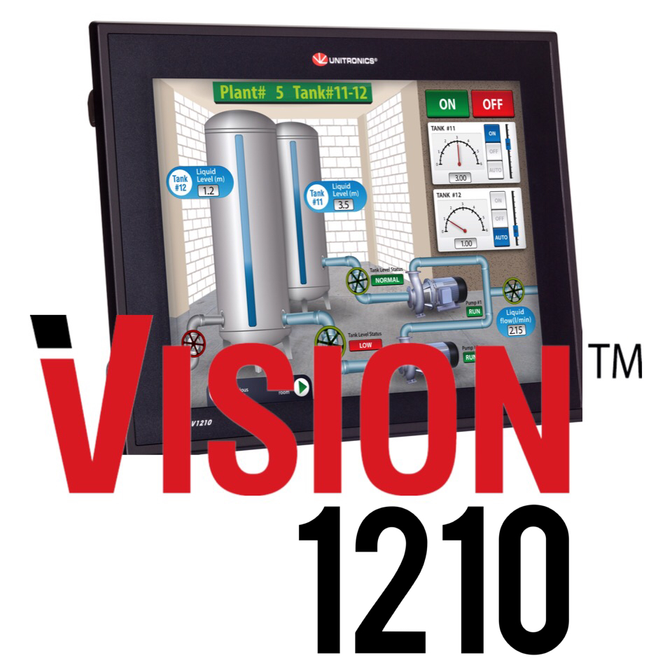 unitronics v1210 12 inch hmi and plc integrated plc hmi rh i4automation co uk VXI V2.0.0 Sony V2.0.0