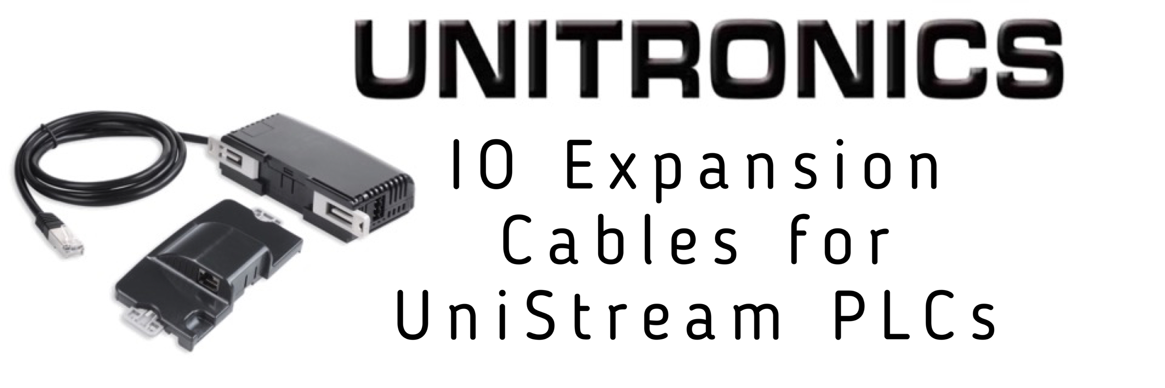 EXP Expansion Cables for UniStream PLCs