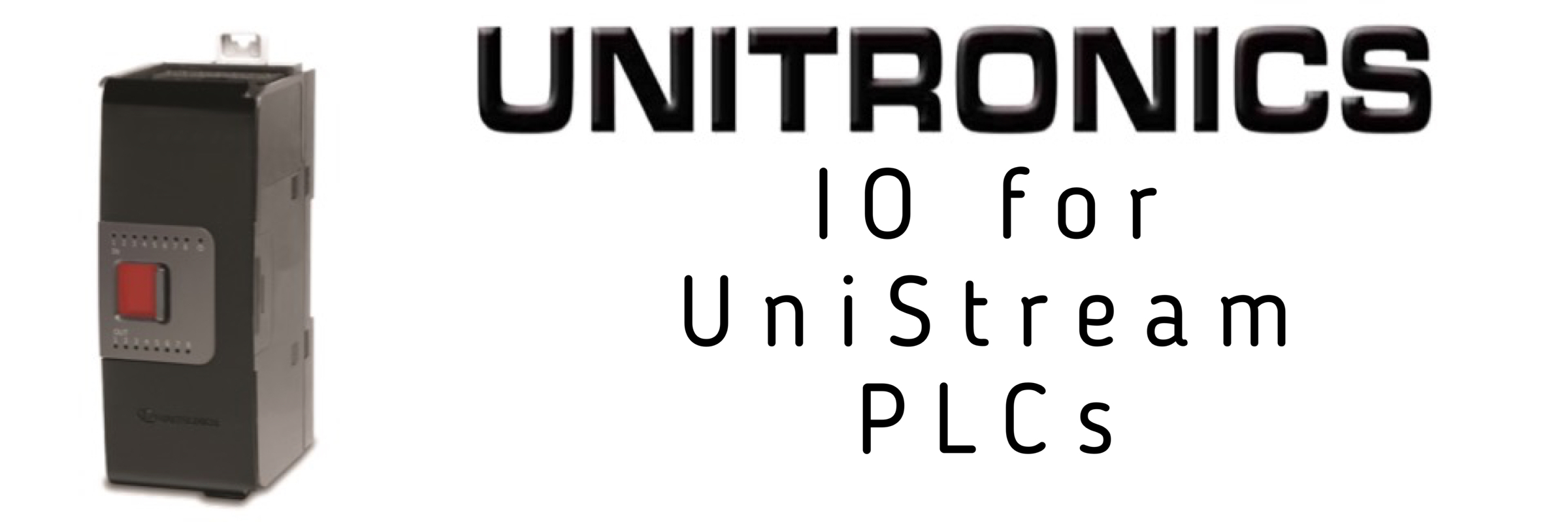 IO for UniStream PLCs
